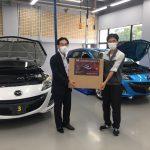 |自動車|神戸マツダ贈呈式を開催しました!